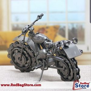 "(8.2"")Vintage Motorcycle Model Retro Motor…"